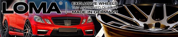 Loma Wheels - Qualitätsfelgen für AMG GTS