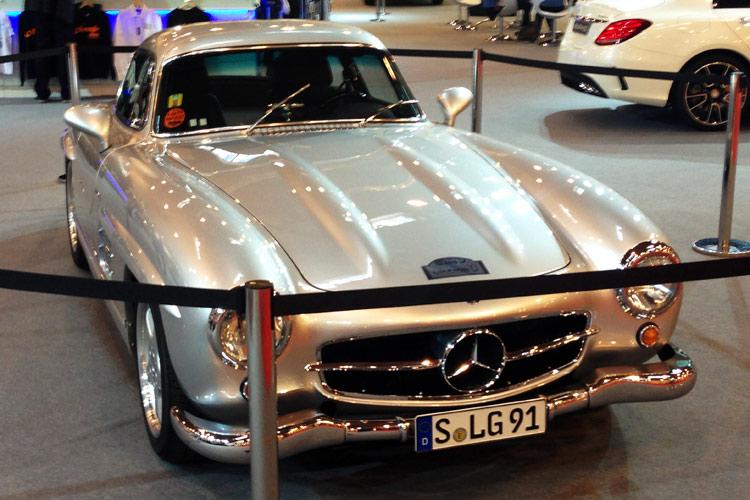 SL Oldtimer mit Flügeltüren