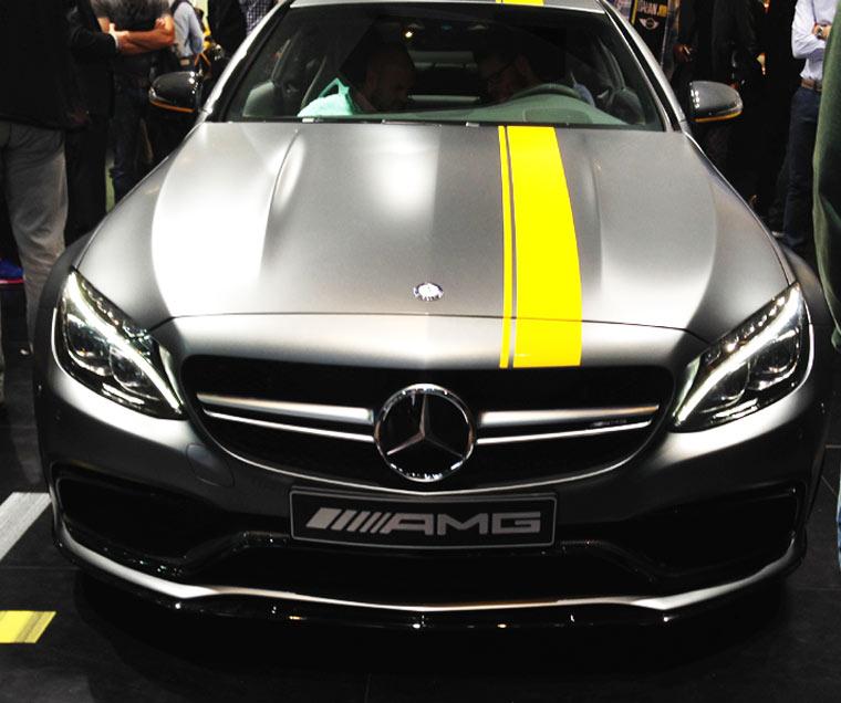 Mercedes Coupe als C63 AMG