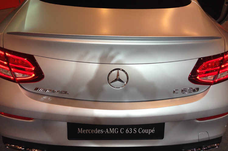 Mercedes C-Klasse C63 AMG Coupe Heck