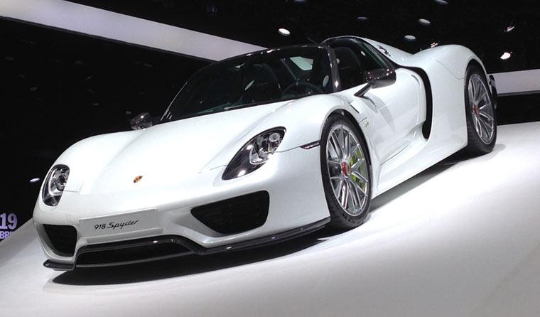 Supersportwagen 918 Spyder von Porsche