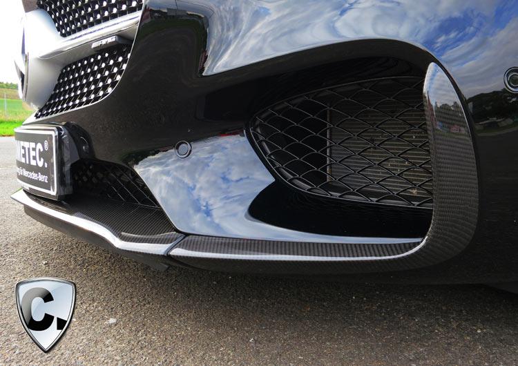 Carbon Frontspoilerlippe für Mercedes AMG GT und GTS