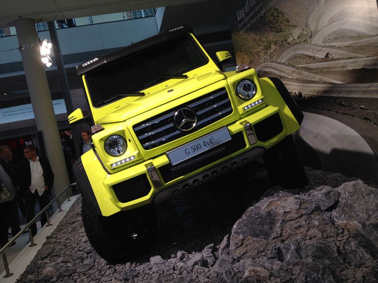 Mercedes G500 4x4 Front
