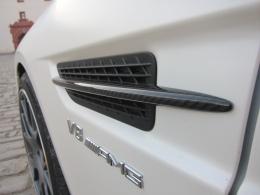 Carbon Kotflügelfinnen SLK 55 AMG