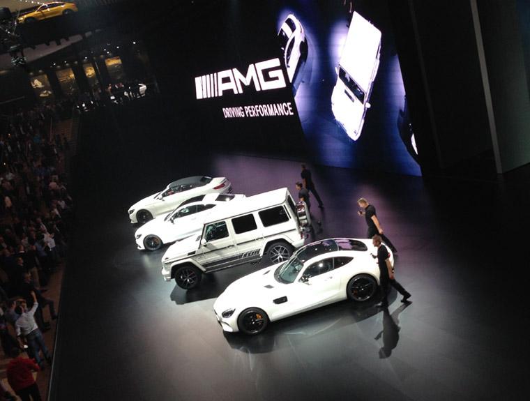 AMG Präsentation Mercedes Benz IAA 2015