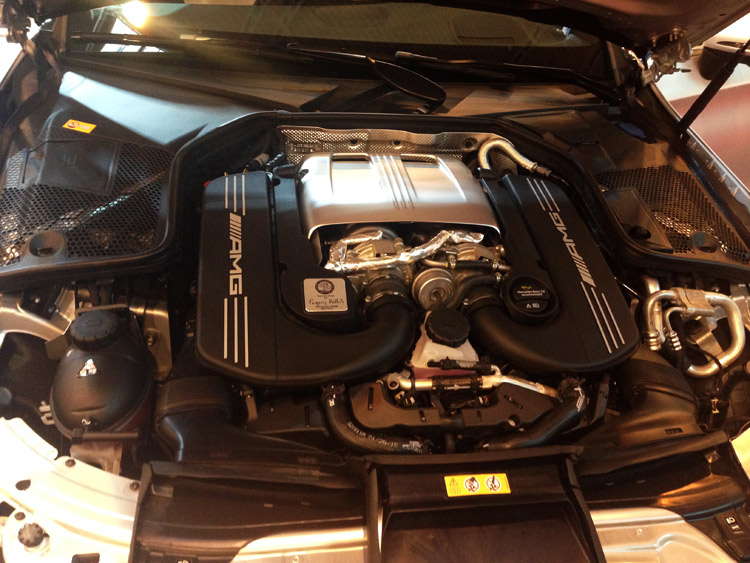 Mercedes C-Klasse C63 AMG Coupe Motor