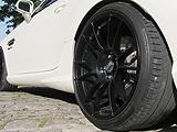 O.Z Schwarz Matt Felgen für Mercedes SLK 55 AMG