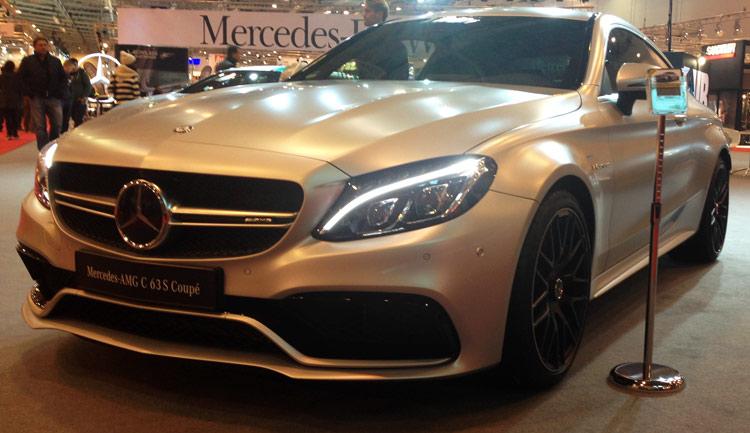 Mercedes C-Klasse C63 AMG Coupe Front
