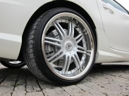 Mercedes SLK 55 AMG Tuning Phantom Silver Felgen